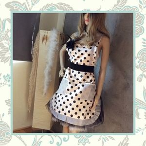 Dresses & Skirts - 🌸POLKADOT APRON PINUP PILLSBURRY PIN UP COVER